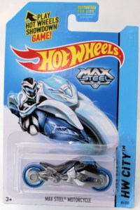 Max Steel Motorcycle - Grey