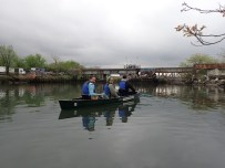 HarborLAB's Newtown Creek Sweep, part of the Riverkeeper Sweep event at sites from NYC to Albany.