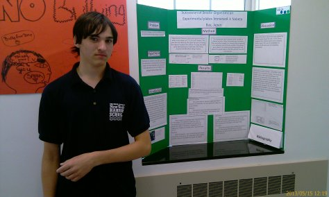 Andrew and his project on ecological succession