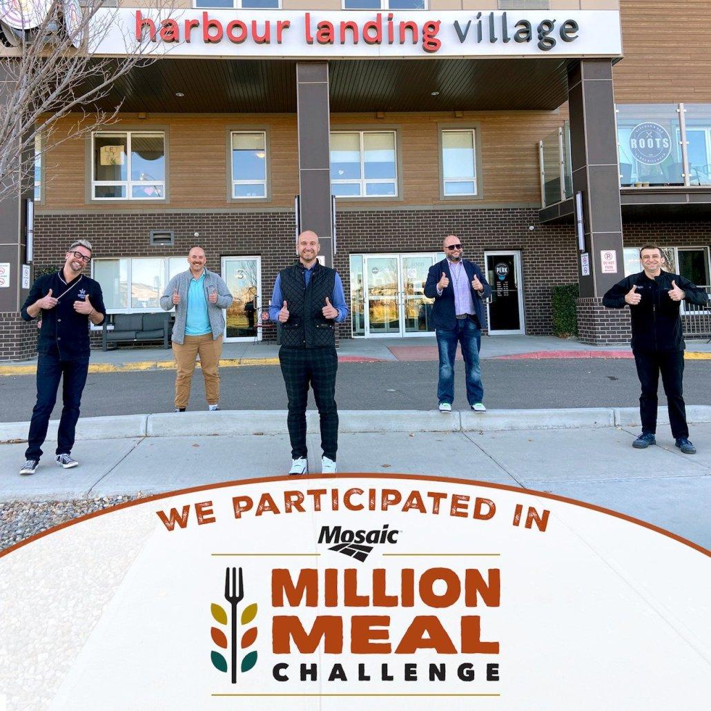 Million meals challenge partners