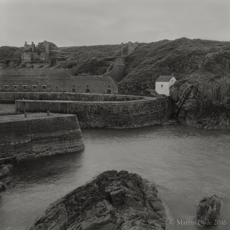 Cliff study 13, Porthgain Harbour Entrance,
