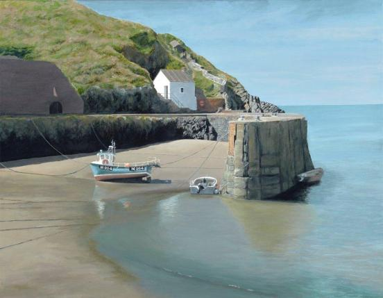 Clive Gould -AT THE HARBOUR Porthgain
