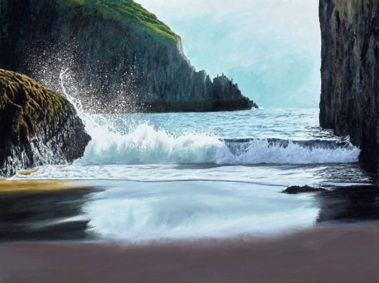 Clive Gould - SEA SPRAY Skinkle Haven