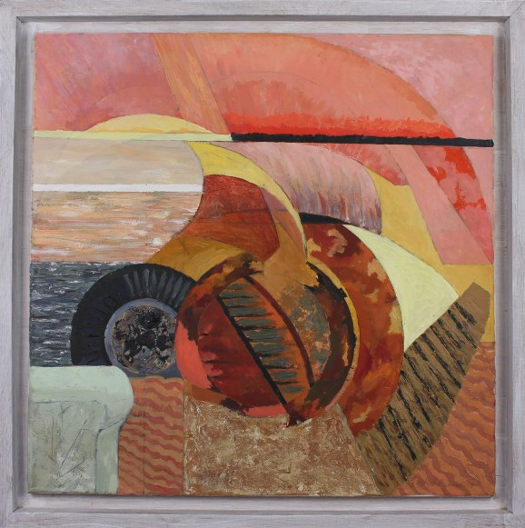 Rachel Fenner - Sunset reformation Framed