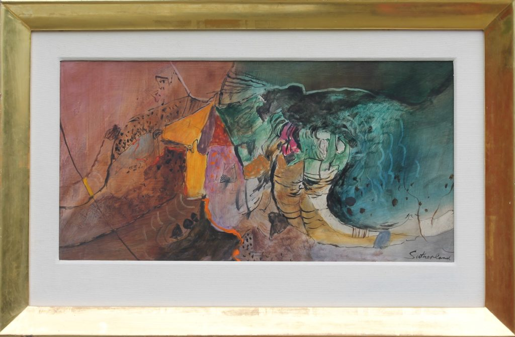 Graham Sutherland - rock and tree forms