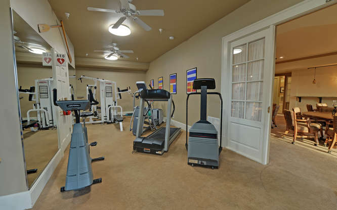Harbour Point Clubhouse Gym