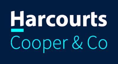 Harcourts CC Logo White Stacked