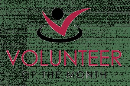 Volunteer of the Month Logo
