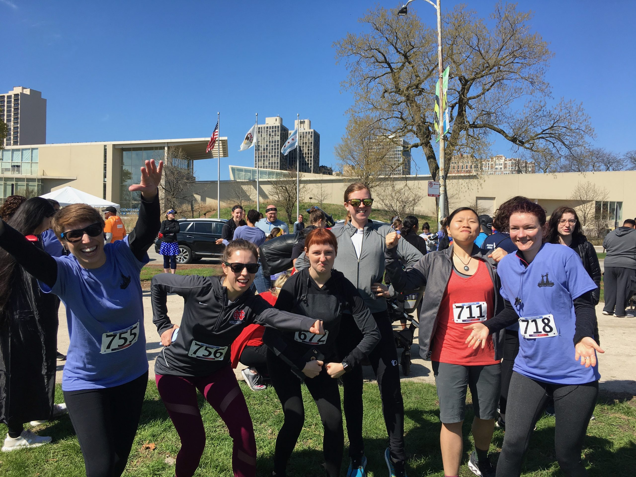 HARC Lab running the 2019 Cities Project Superhero 5k
