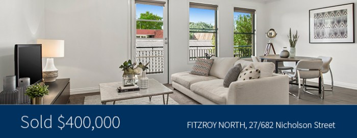 27/682 Nicholson Street, Fitzroy North - SOLD