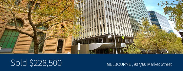 907/60 Market Street - Sold for $228,500 - Harcourts Melbourne City