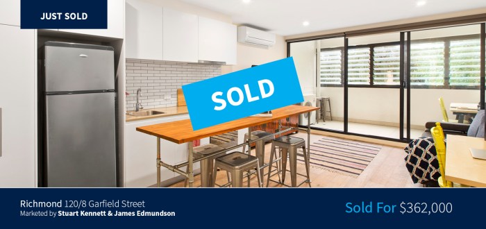 120/8 Garfield Street, Richmond - Sold for $362,000 - Harcourts Melbourne City