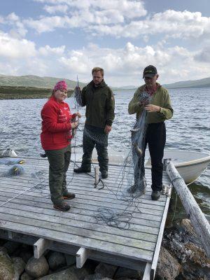 garnfiske i hettefjorden