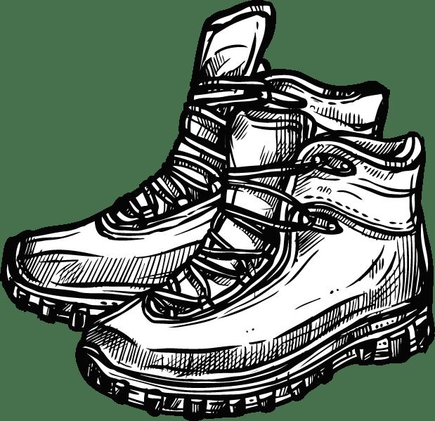 illustrasjonsbilde sko