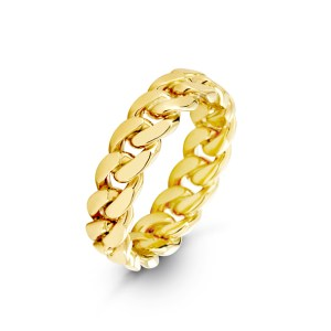 6mm Cuban Link Ring