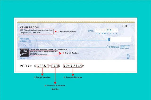 CIBC sample cheque: everything you need to know to find it and