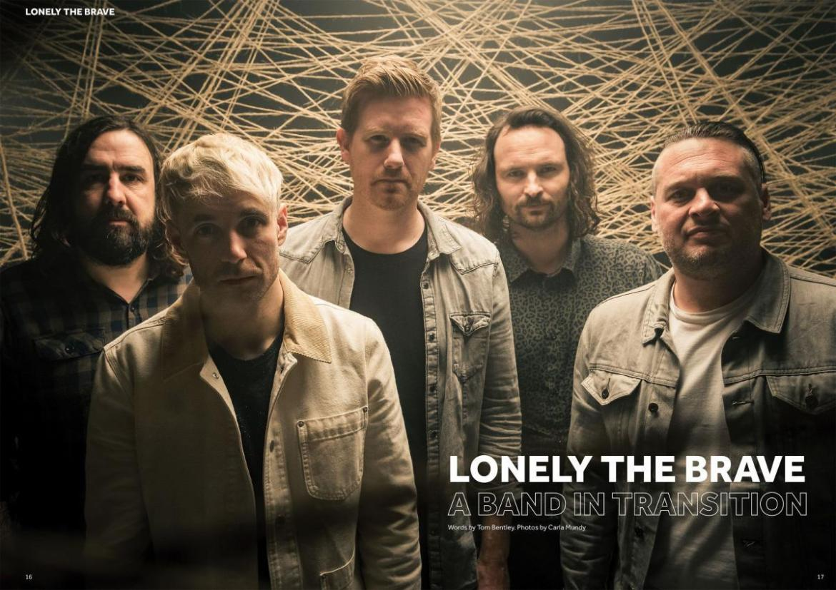 Lonely The Brave - A Band In Transition