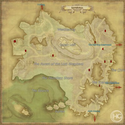 Final Fantasy XIV Aether Currents Lakeland Quests