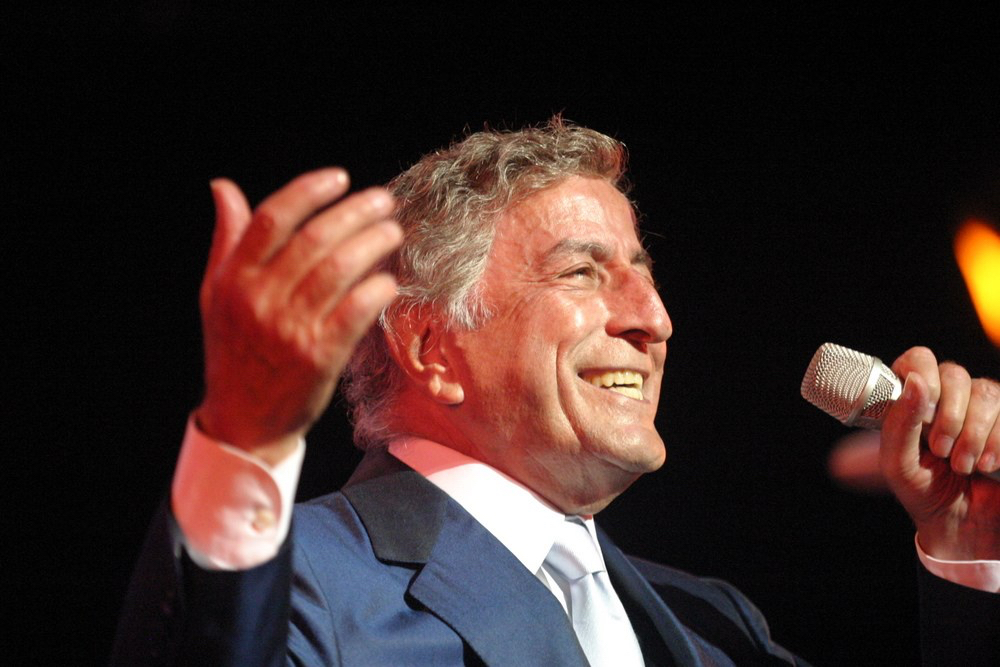 WATCH: Tony Bennett Singing 'Rags to Riches'