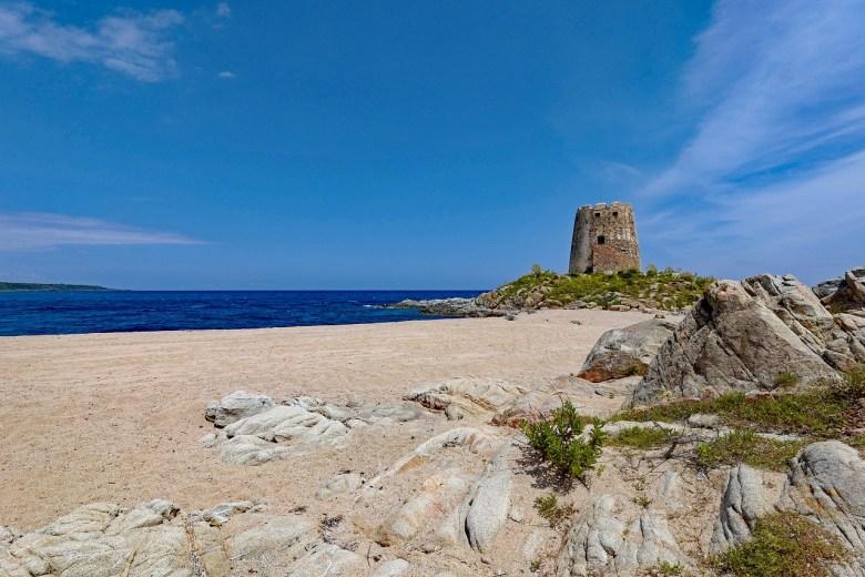 Torre Di Bari Sardinia Beach Barisardo By The Sea