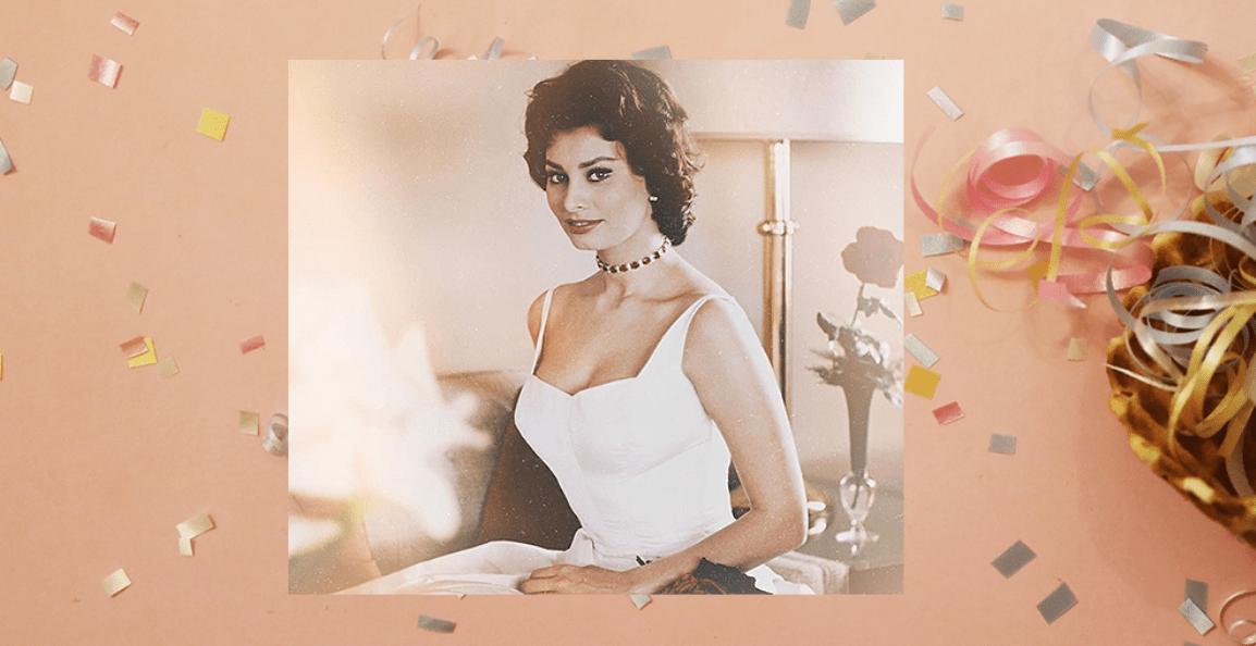 Sophia Loren Turns 85! Buon Compleanno Sophia