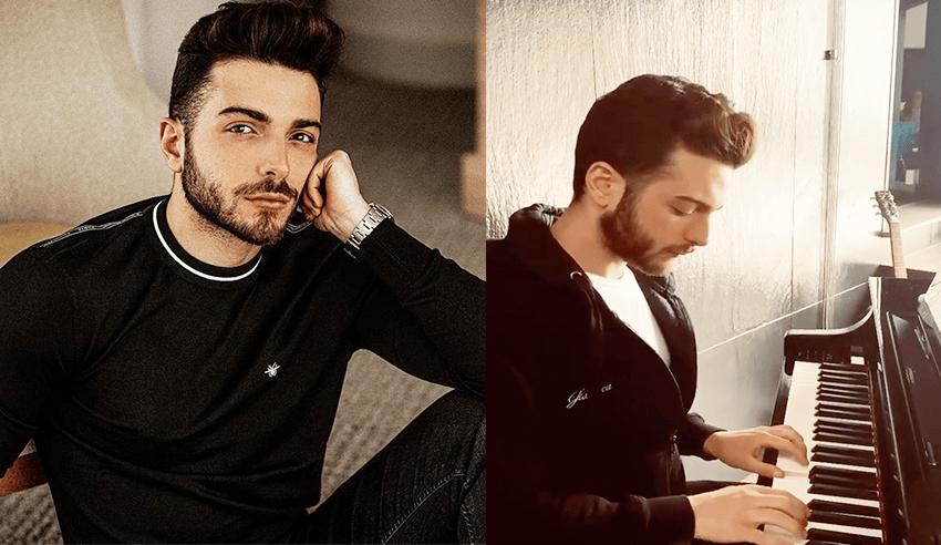 """Il Volo's Gianluca Ginoble Singing """"Per Due Che Come Noi"""" 🎶"""