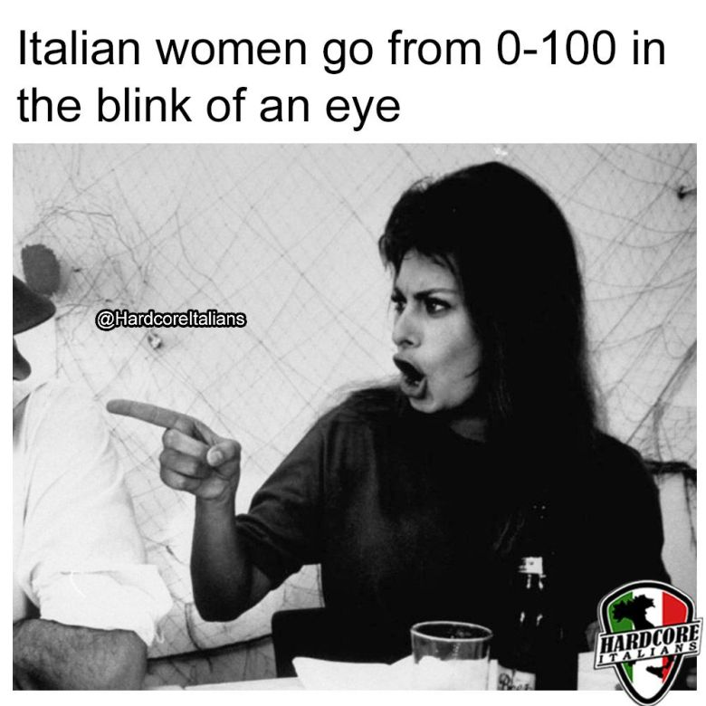 Top 7 Reasons Not to Argue With an Italian Woman | Hardcore Italians