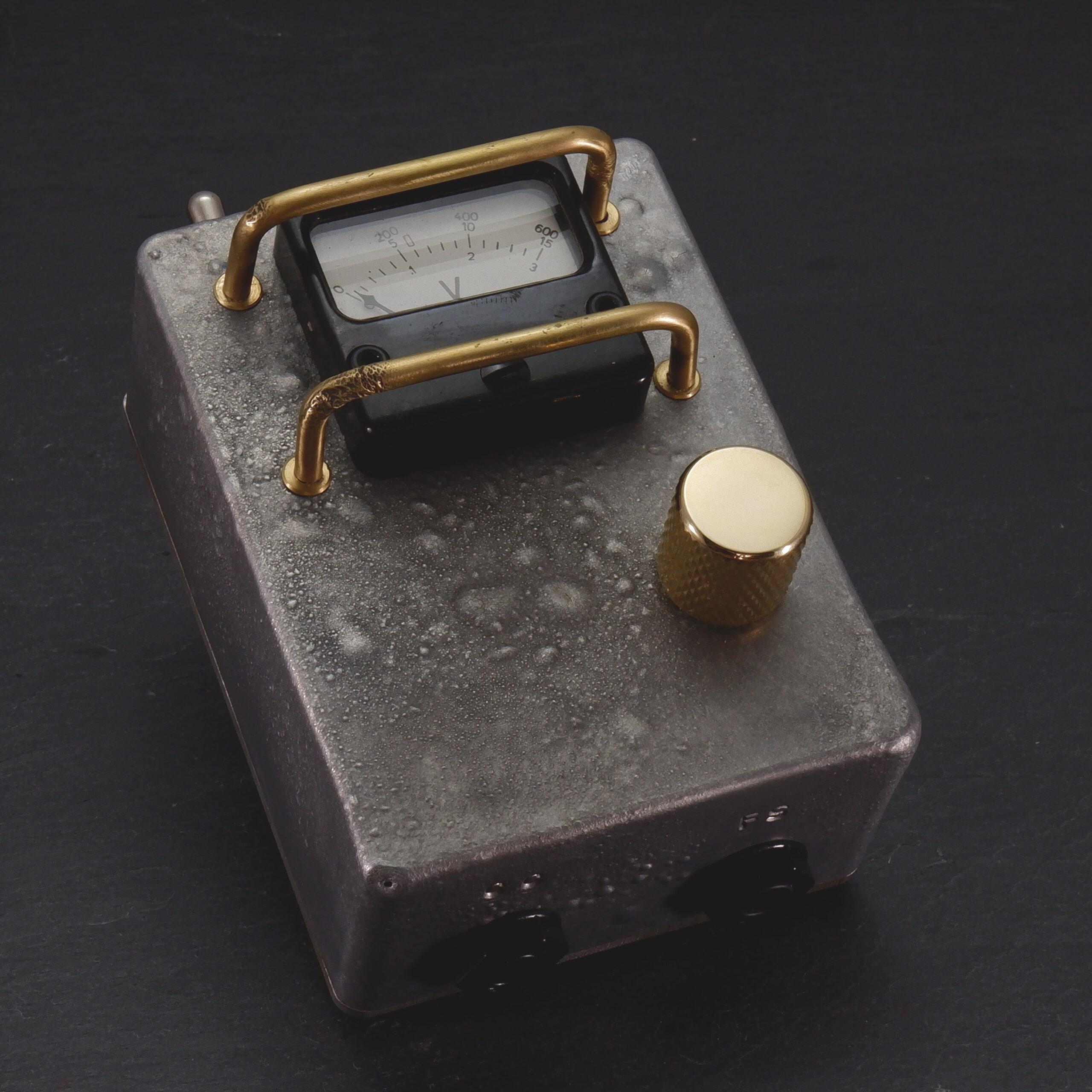 Burnt Aluminium Vintage Voltmeter PowerSupply (One-Off) 3