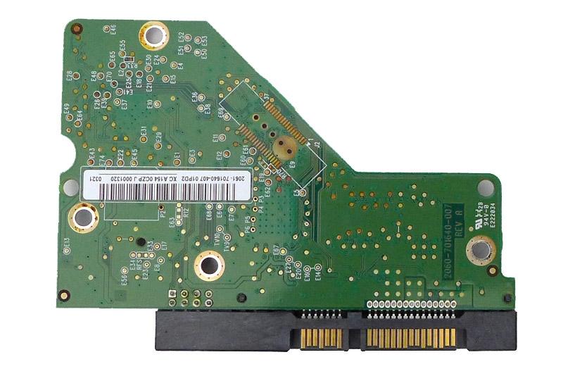 PCB WD10EADS-11M2B2 2061-701640-407 01PD2 1TB Western