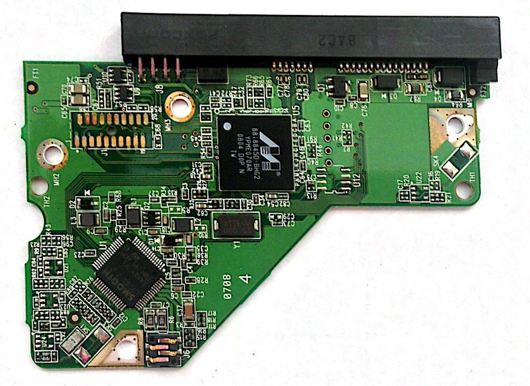 PCB WD5000AAKS-65A7B0 Western Digital 2061-701537-E00 07P