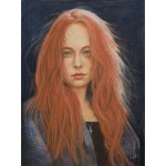David Hardesty - Woman With Red Hair