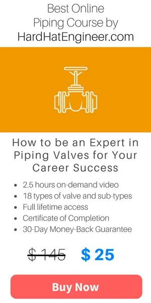 Types of valve course