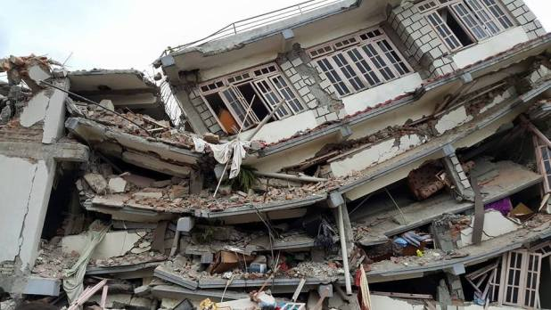 Nepal Earthquake destroy skyscrapers