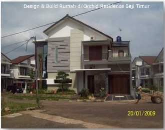 rumah bapak nashrullah - Orchid residence
