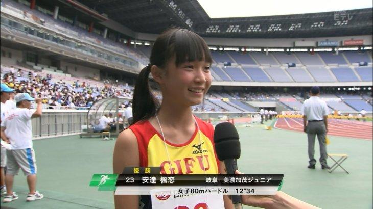 【2,000view over】安達楓恋さんがかわいすぎる。
