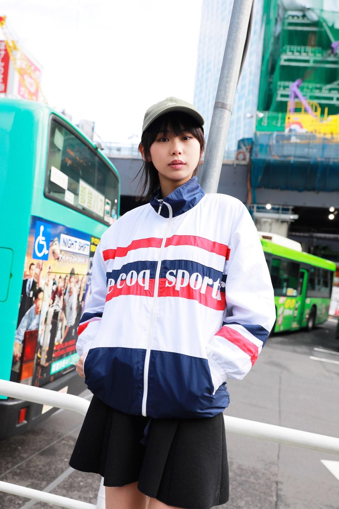 tracktop girl  薫子