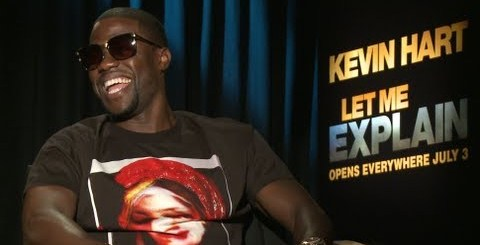 Kevin Hart Freestyle (Funny) + talks Let Me Explain New Movie interview by Nick Huff Barili Hard Knock TV