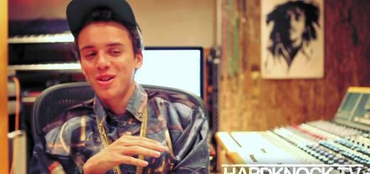 Logic talks J Cole, Drake, Nas comparisons, Touring with Kid Cudi, Hip Hop friendships interview by Nick Huff Barili Hard Knock tv