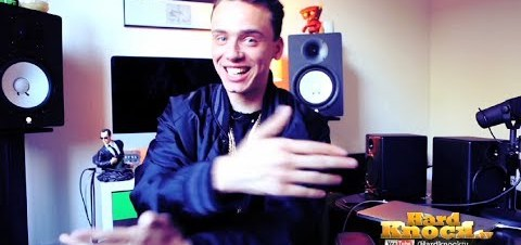 Logic talks Kid Cudi, Tyler the Creator, Big Sean, Fear of Flying, Touring interview by Nick Huff Barili