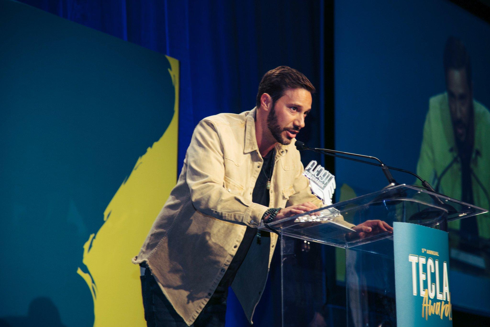 "Nick Huff Barili Tecla Award Winner ""Best Entertainment Content Creator"""