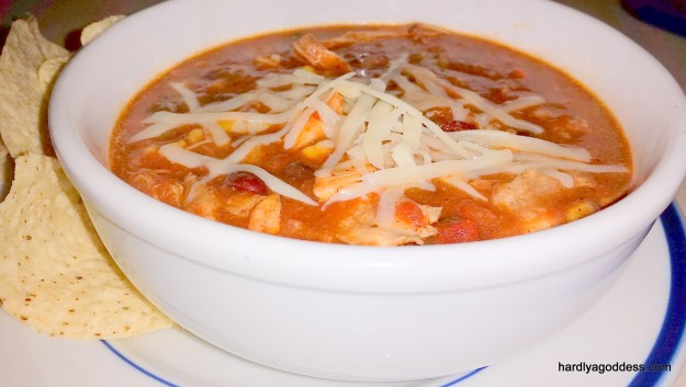 Crockpot Chicken Taco Soup