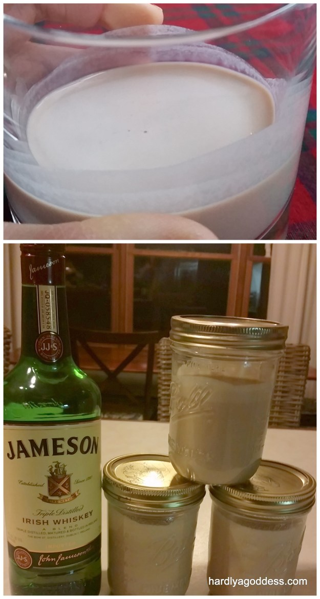 Homemade Irish Cream Whiskey (Bailey's)