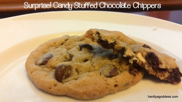 12 Days of Christmas Cookies, Day 9: Surprise! Stuffed Chocolate Chippers