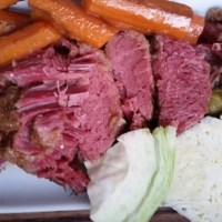 New England Boiled Dinner: Crockpot Corned Beef