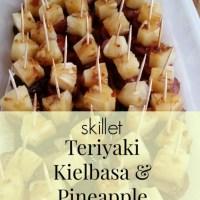 Teriyaki Kielbasa & Pineapple Bites