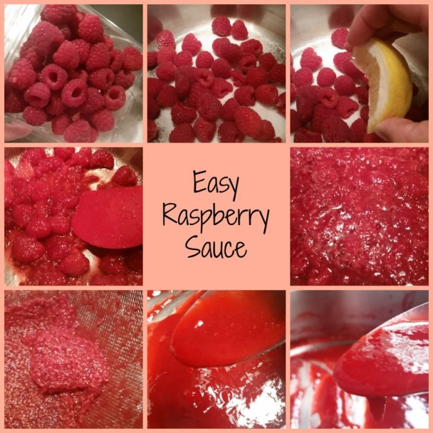 Easy to make Raspberry Sauce