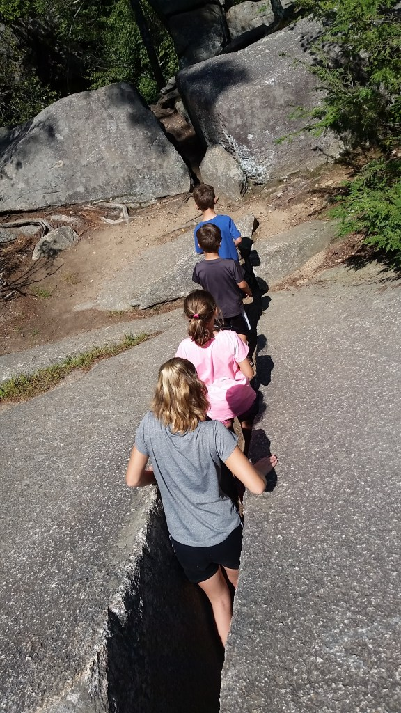 purgatory chasm fun with kids