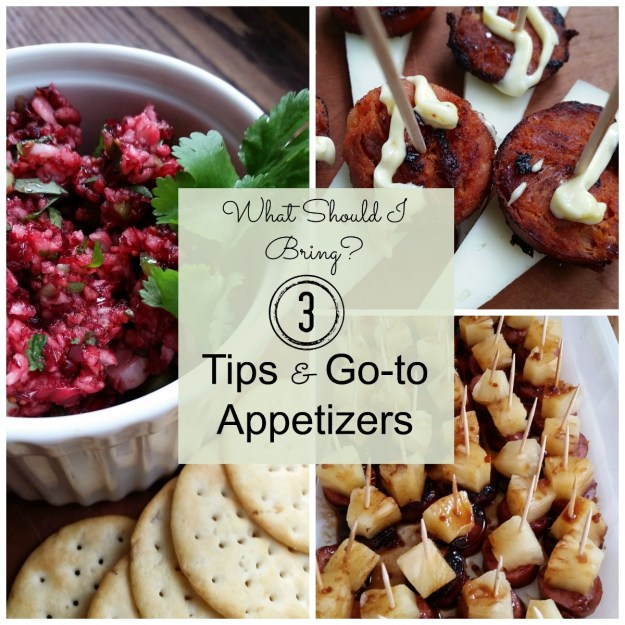 3 Tips and go-to appetizers