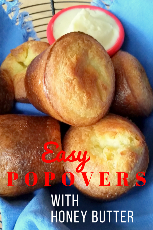 Easy Popovers with Honey Butter