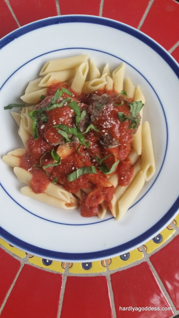 Healthier Italian Meatballs
